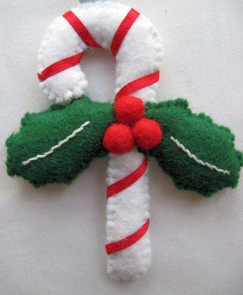Mucas ideas para los Bastones de Navidad
