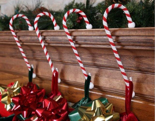 lindos bastones para Navidad