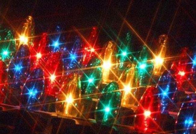 Muchos colores y luces
