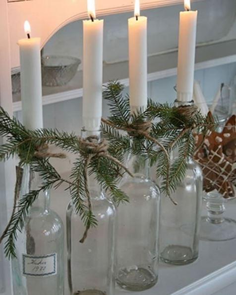 Colocando las velas