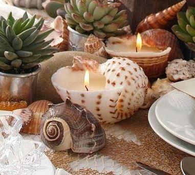 Conchas para las velas