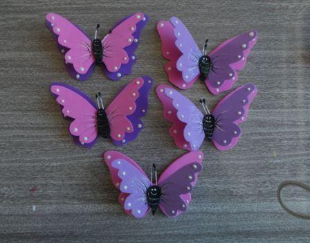 Mariposas para los ambientes