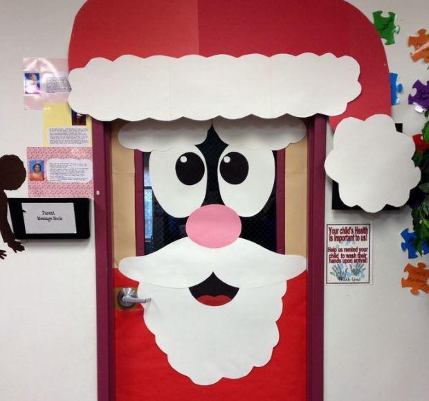 Una Hermosa Puerta Para Abrirla En Navidad Arbol De Navidad