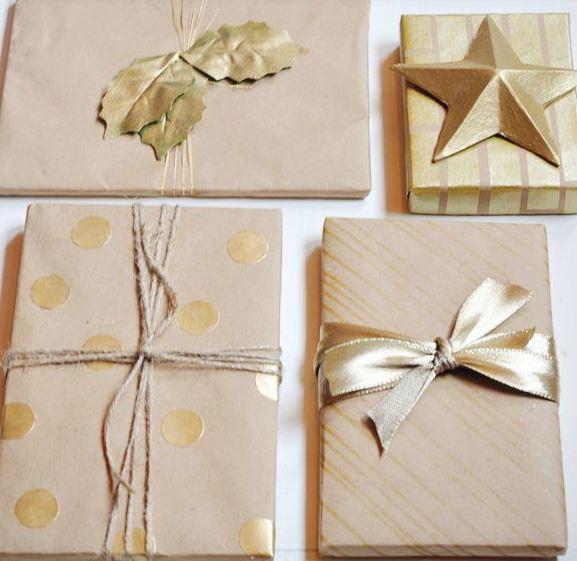 Ideas para colocar bajo el árbol.