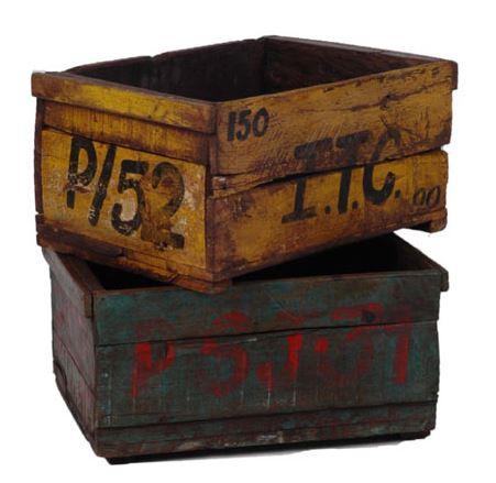Algunas viejas cajas del armario