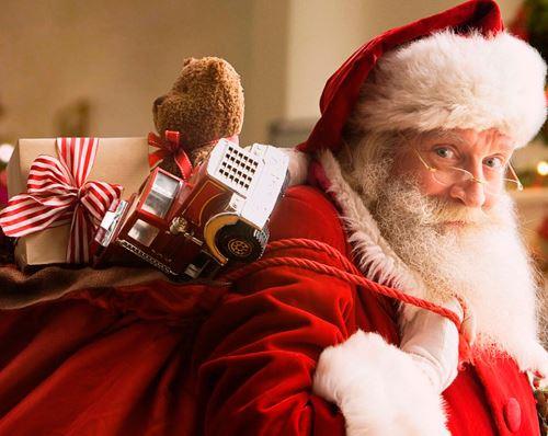 Santa Claus no puede faltar