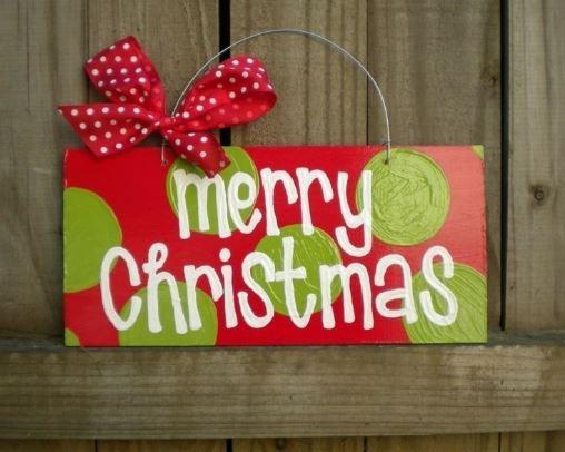 Un cartel para Navidad