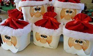 Frascos De Vidrio Decorados Arbol De Navidad