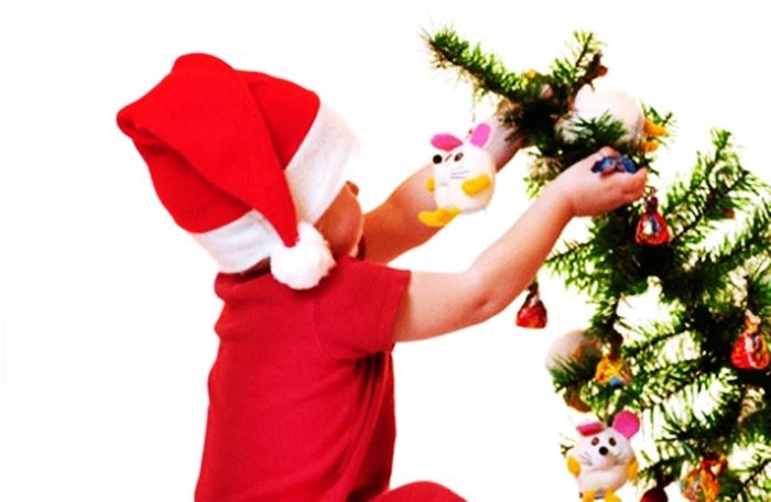Los niños y el árbol
