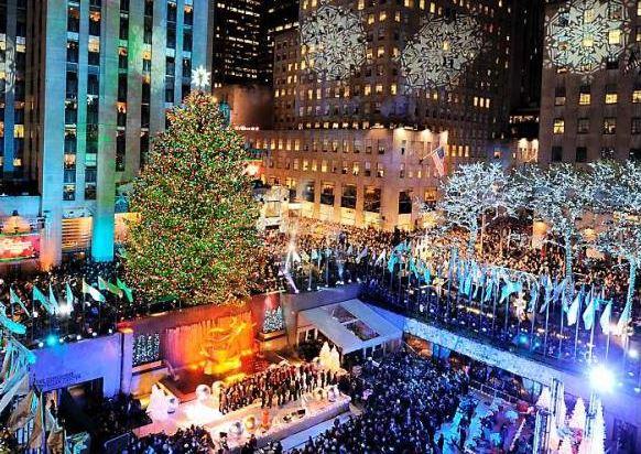 El gran árbol del Rockefeller