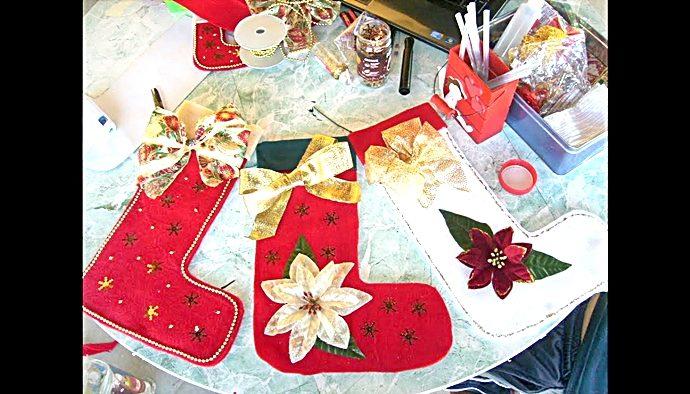 Una bota de Santa