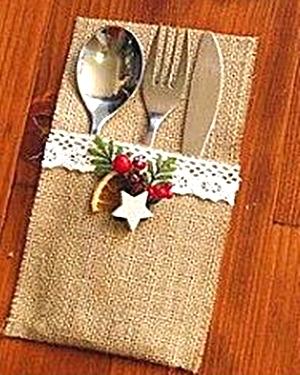 Un Portacubierto para cada puesto en la mesa