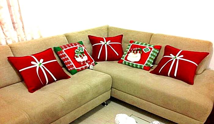 Cojines o almohadones para adornar los muebles