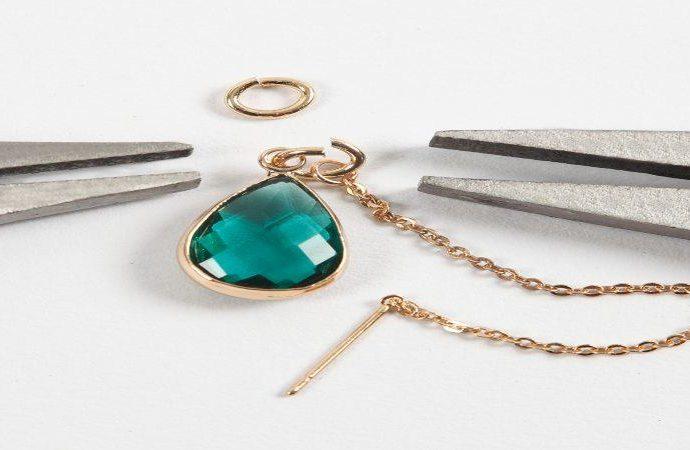 DIY regalos navidad pulseras piedras semipreciosas