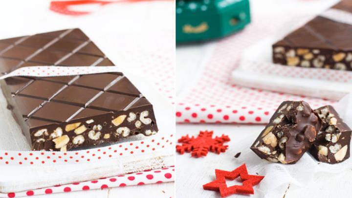 El dulce tradicional de Navidad: el turrón de chocolate